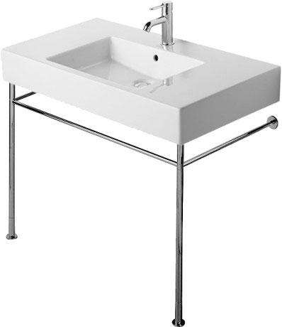 duravit vero lavabos console m233tallique 003071 by duravit