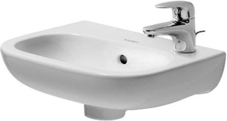 Duravit d code lavabos lave mains 070536 by duravit - Baignoire duravit d code ...