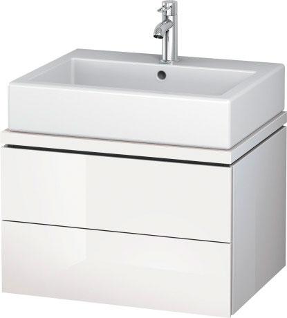 duravit l cube meubles meuble sous lavabo pour plan de toilette lc6821 by duravit. Black Bedroom Furniture Sets. Home Design Ideas