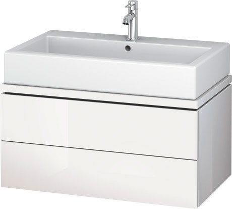 duravit l cube meubles meuble sous lavabo pour plan de toilette lc6822 by duravit. Black Bedroom Furniture Sets. Home Design Ideas