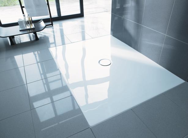 Duravit receveur de douche extra plat douche ras du for Pose d un receveur de douche extra plat