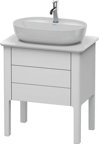 Luv Meuble Sous Lavabo à Poser Pour Plan De Toilette Lu9565 Duravit