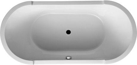 Duravit starck baignoires receveurs bathtubs baignoire Receveur baignoire