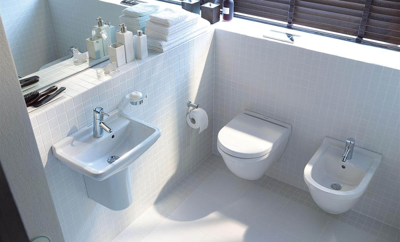 Salle De Bain Carreau De Ciment Noir Et Blanc ~ Petits Espaces Toilettes Id Es Pour Petites Salles De Bains